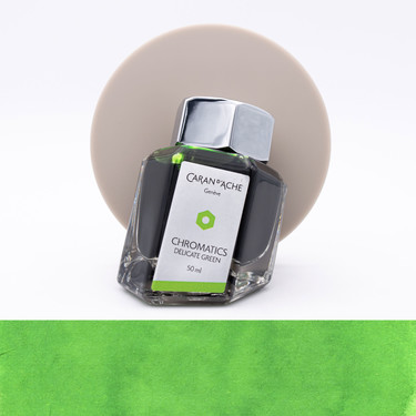 Caran d'Ache Delicate Green Ink Bottle 50 ml