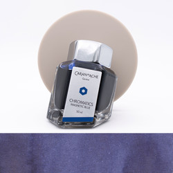Caran d'Ache Magnetic Blue Ink Bottle 50 ml