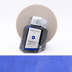 Caran d'Ache Idyllic Blue Ink Bottle 50 ml