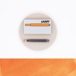 Lamy T10 Bronze 5 Ink Cartridges 2019 Special Edition