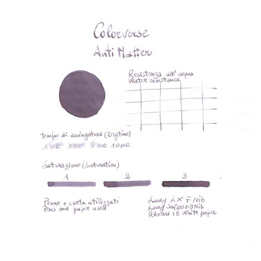 Colorverse Matter & Anti-Matter Inchiostro 65 + 15 ml