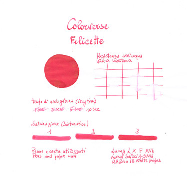 Colorverse Felicette & Felicette Glistening Ink Bottle 65 + 15 ml
