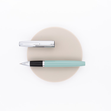 Aurora Duo Cart Rollerball Pen Green