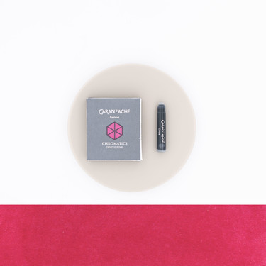 Caran d'Ache Divine Pink 6 Ink Cartridges