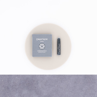 Caran d'Ache Infinite Grey 6 Ink Cartridges