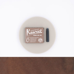 Kaweco Caramel Brown 6 Ink Cartridges