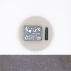 Kaweco Smokey Grey 6 Ink Cartridges