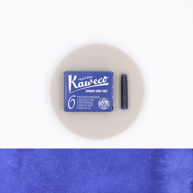 Kaweco Royal Blue 6 Ink Cartridges