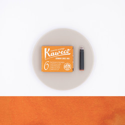 Kaweco Sunrise Orange 6 Ink Cartridges