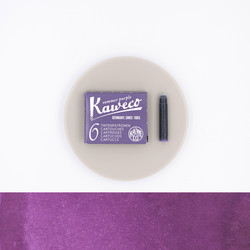 Kaweco Summer Purple 6 Ink Cartridges