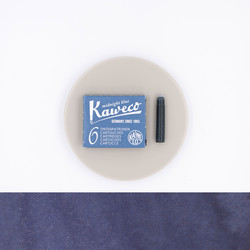 Kaweco Midnight Blue 6 Ink Cartridges