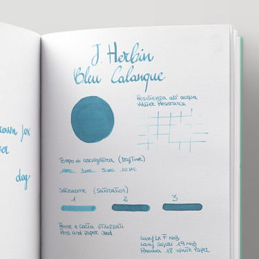 Herbin Bleu Calanque 6 Ink Cartridges