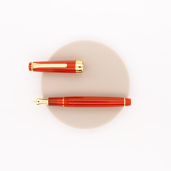 Sailor Professional Gear Slim Penna Stilografica Fire Edizione Speciale