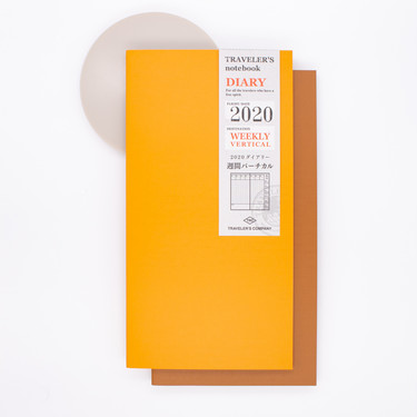 Traveler's Notebook Regular Size Agenda 2020 Settimanale Verticale