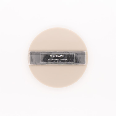 Palomino Blackwing Set of 10 Replacement Erasers Black