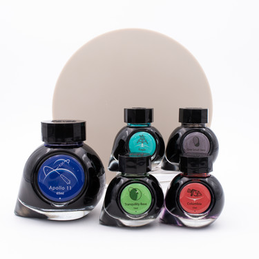 Colorverse First Moon Landing Set of 5 Ink Bottles Limited Edition