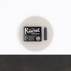 Kaweco Pearl Black 6 Ink Cartridges