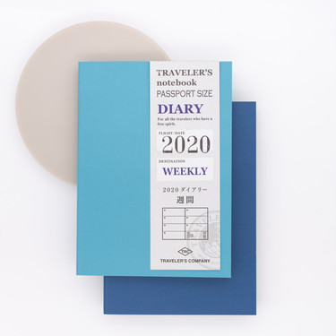 Traveler's Notebook Agenda 2020 Settimanale Passport Size