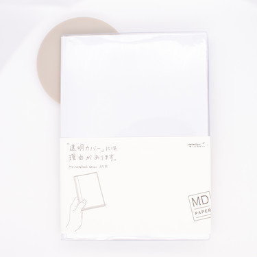 Md Paper Clear Cover A5