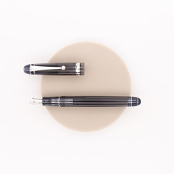 Pilot Custom 74 Fountain Pen Transparent Black