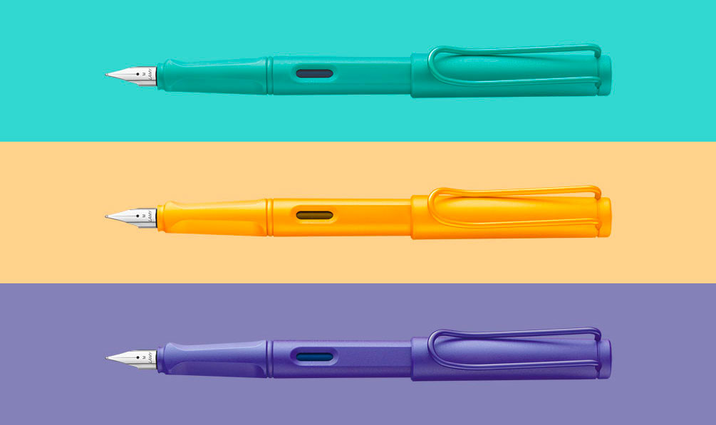 Lamy Safari Candy 2020 Special Edition | Fountain Pen, Rollerball Pen, Ballpoint Pen