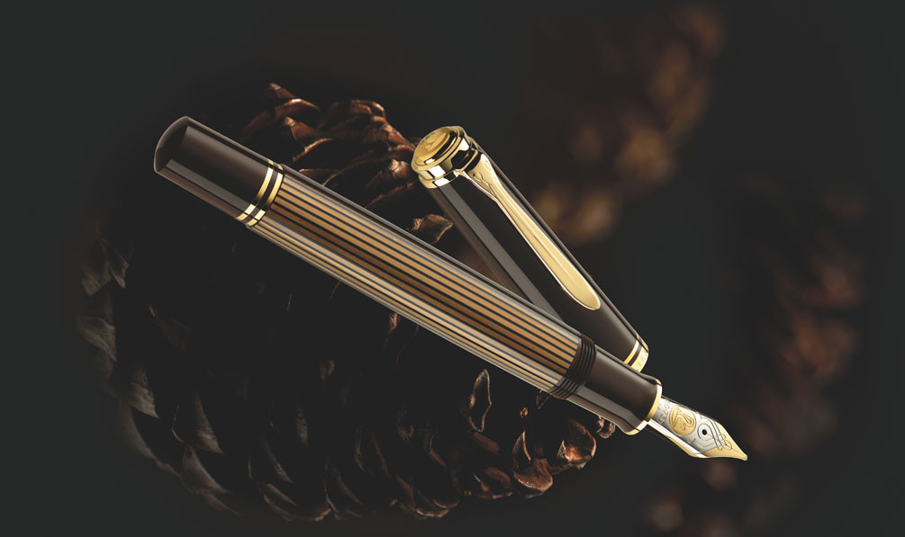 Pelikan M800 Brown - Black | Penna Stilografica Special Edition 2019