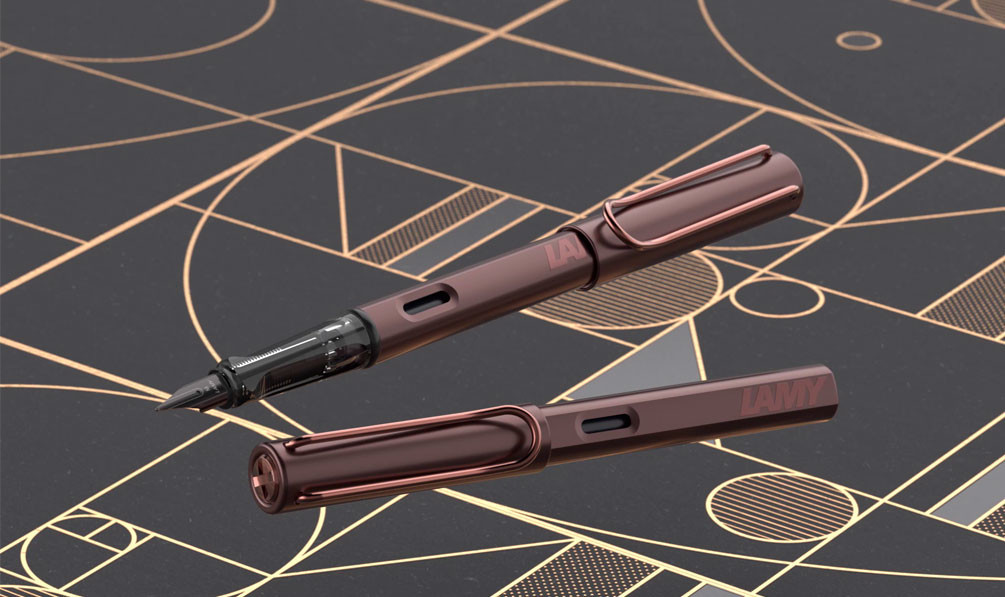 Lamy LX Marron 2019 Special Edition| Fountain Pen, Rollerball Pen and Ballpoint Pen